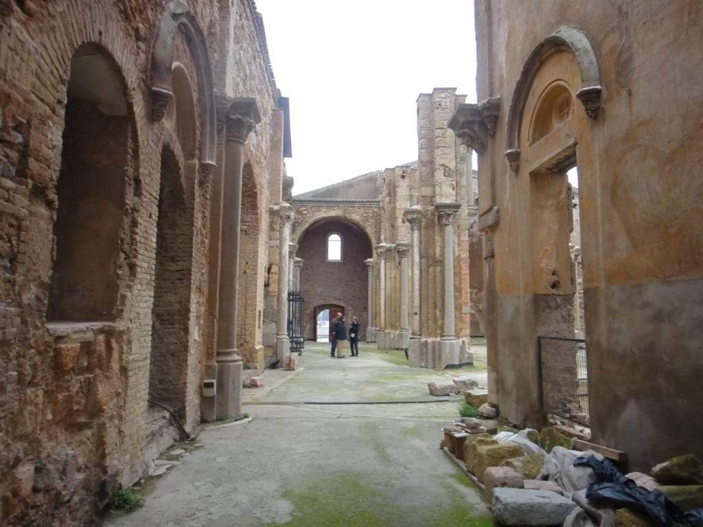 Ruinas de la catedral vieja de Cartagena