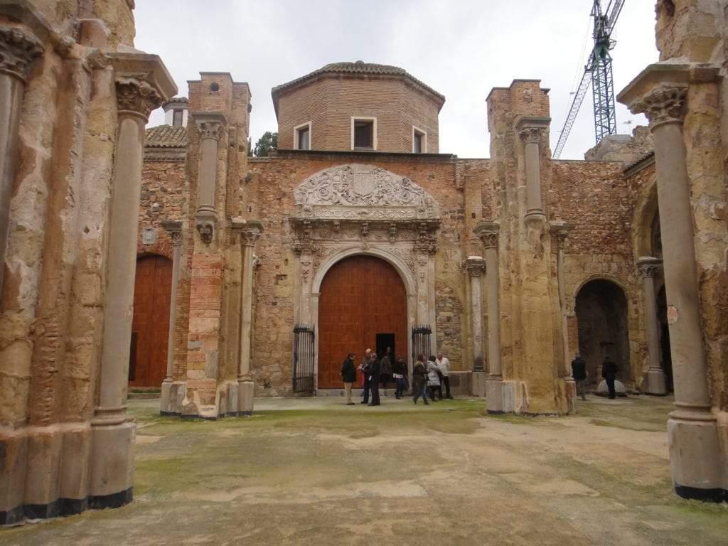 Catedral vieja de cartagena capilla