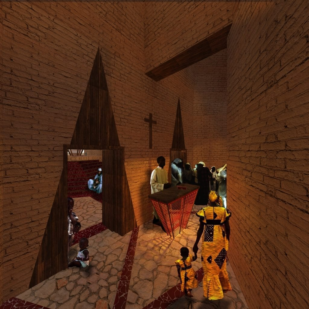 Capilla proyecto the hive