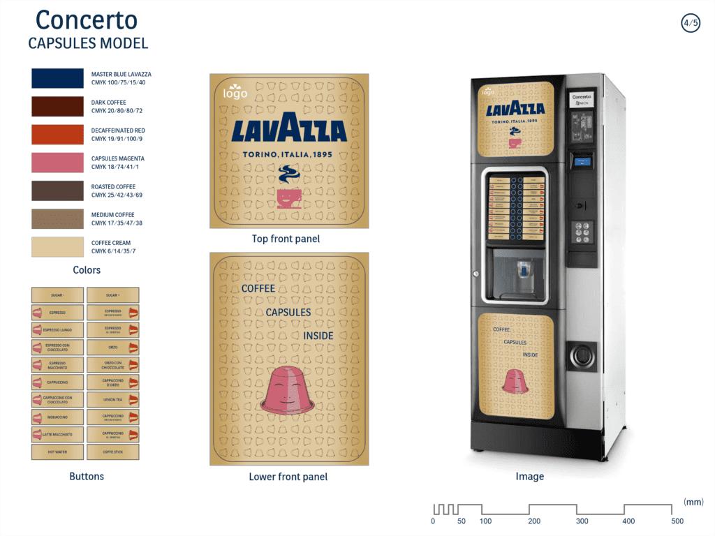 maquina de cafe de cápsulas de lavazza