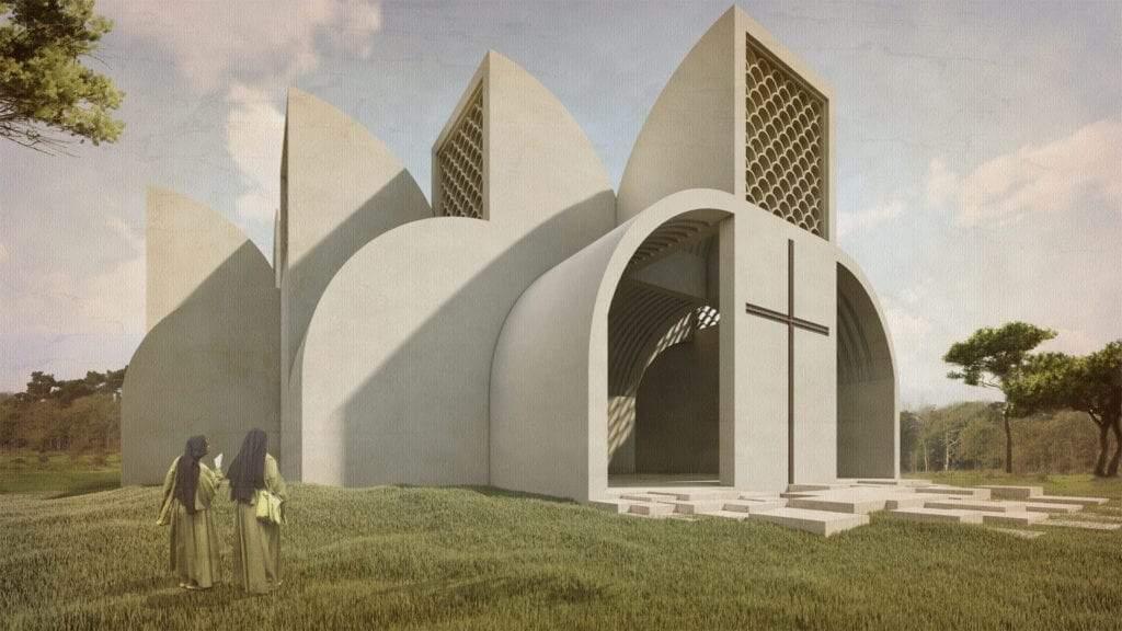 Rwanda Chapel iglesia en Rukomo