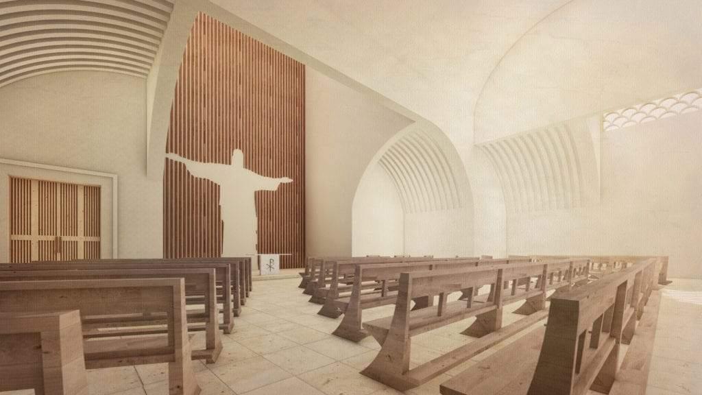 interior iglesia rwanda