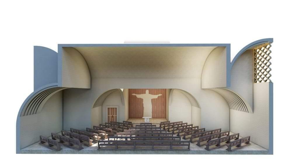 transversal rwanda chapel