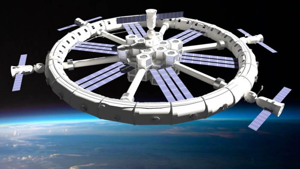 Hábitat espacial autoconstruible