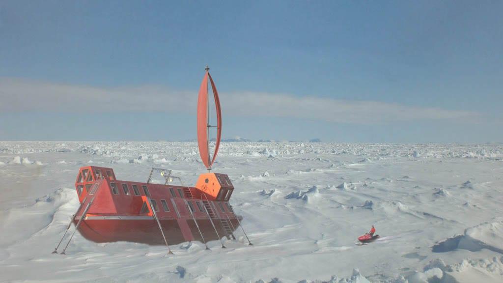 Laboratorio ártico climatológico