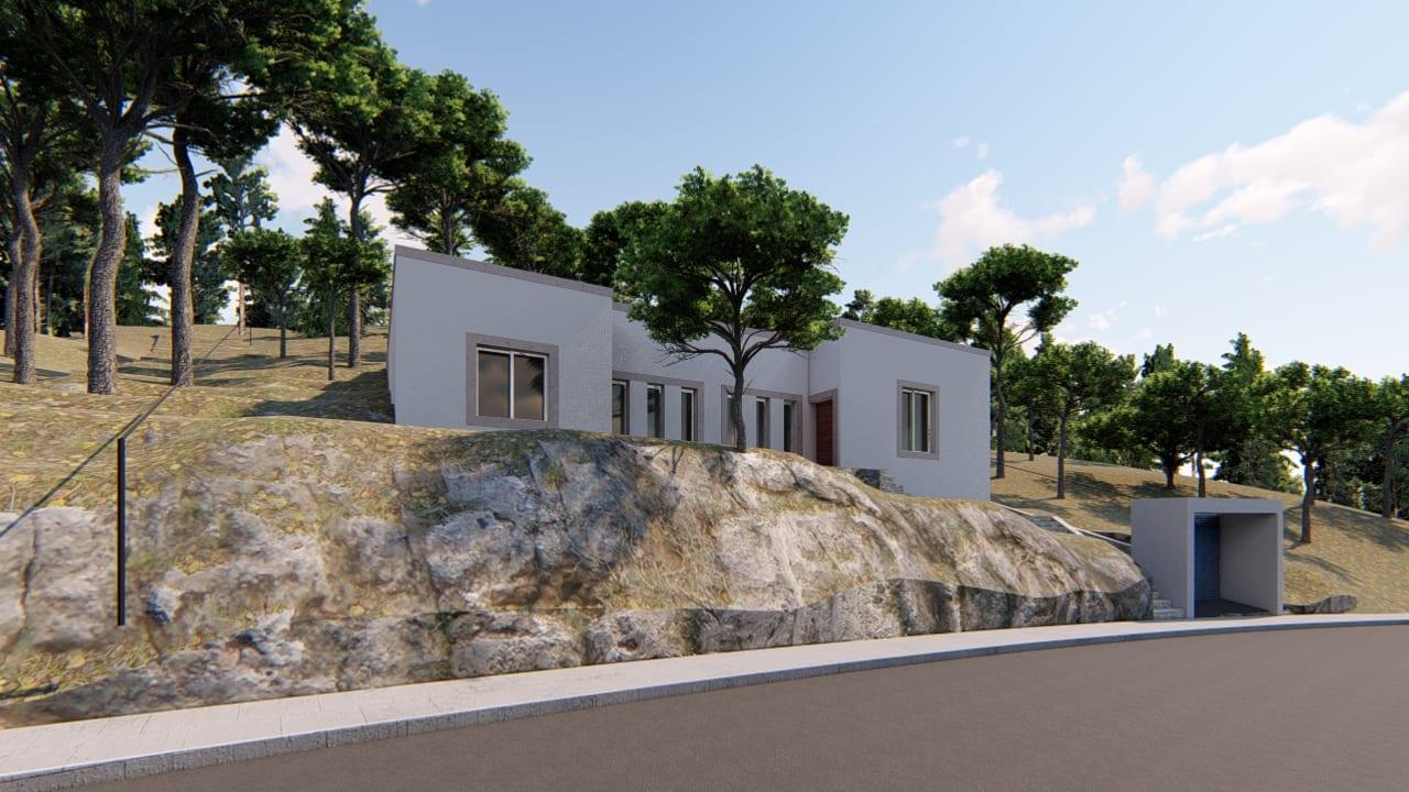 casa colina en Murcia Montepinar