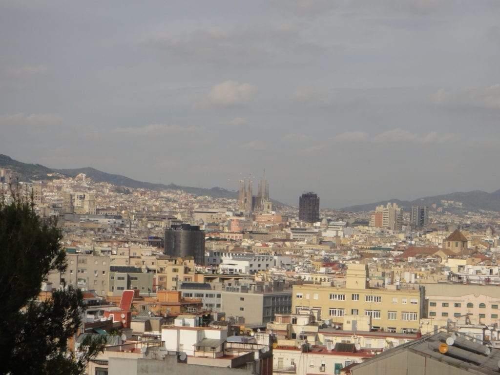 Vista de Barcelona Arquitectura para luchar contra el Coronavirus