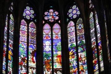 Vidriera Saint Denis
