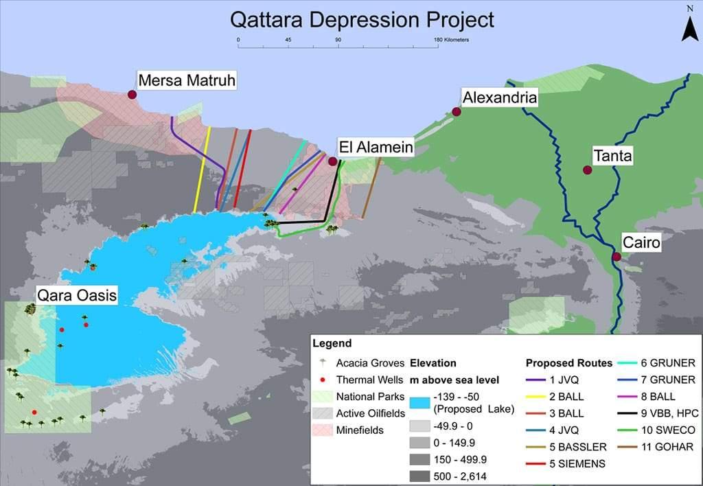 Qattara Depression Project