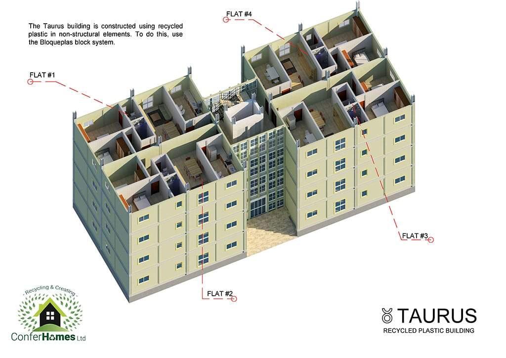 edificio de viviendas taurus