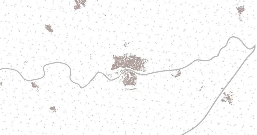 Mapa de Murcia en 1900
