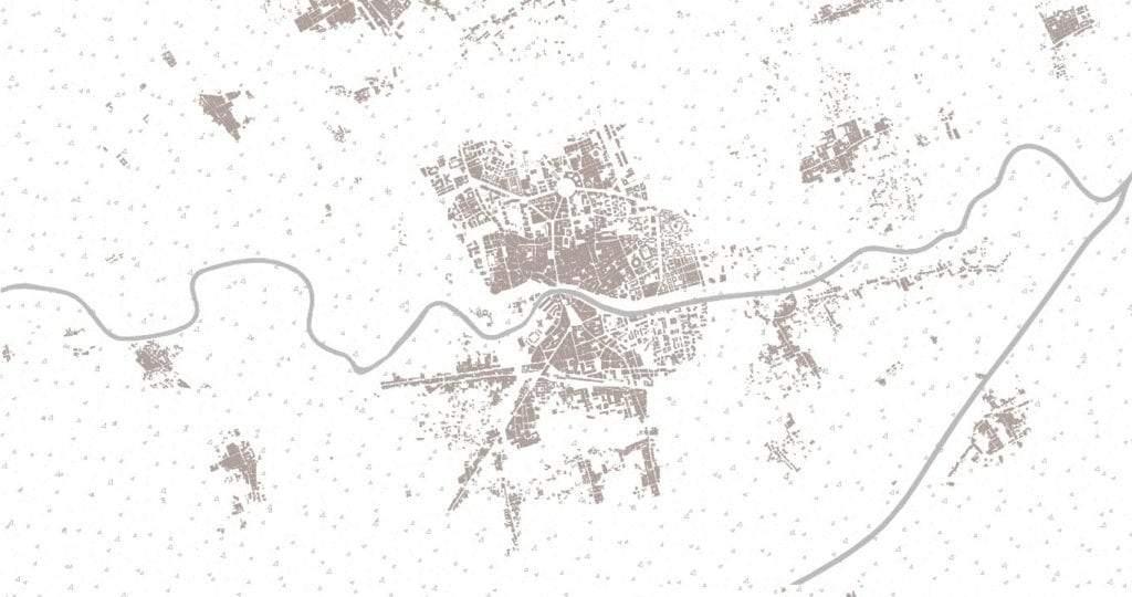 Mapa de Murcia en 1956