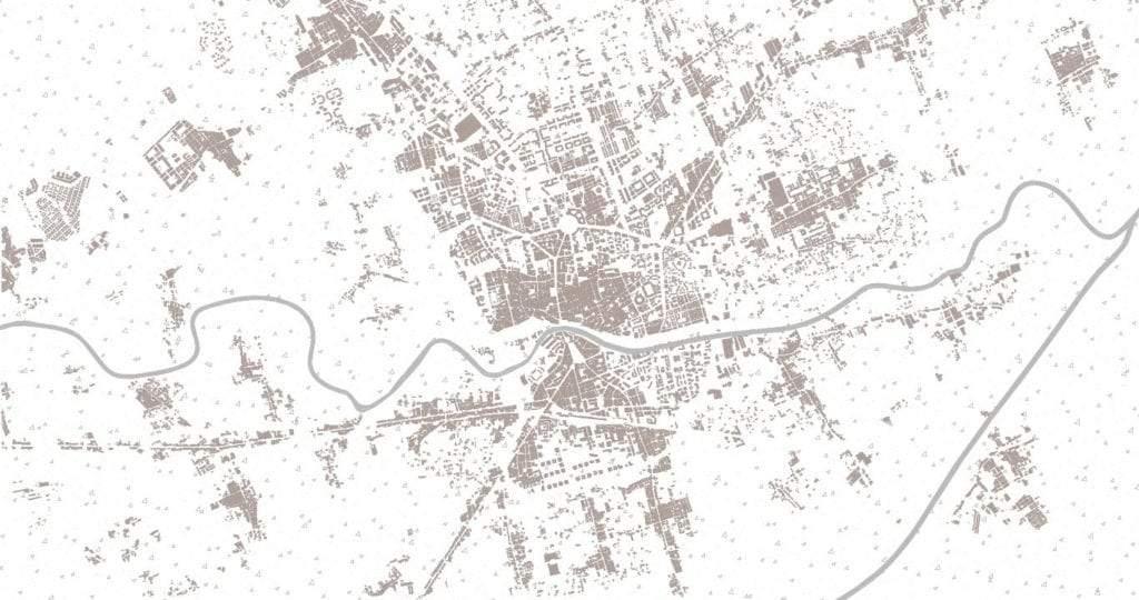 Mapa de Murcia en 2000