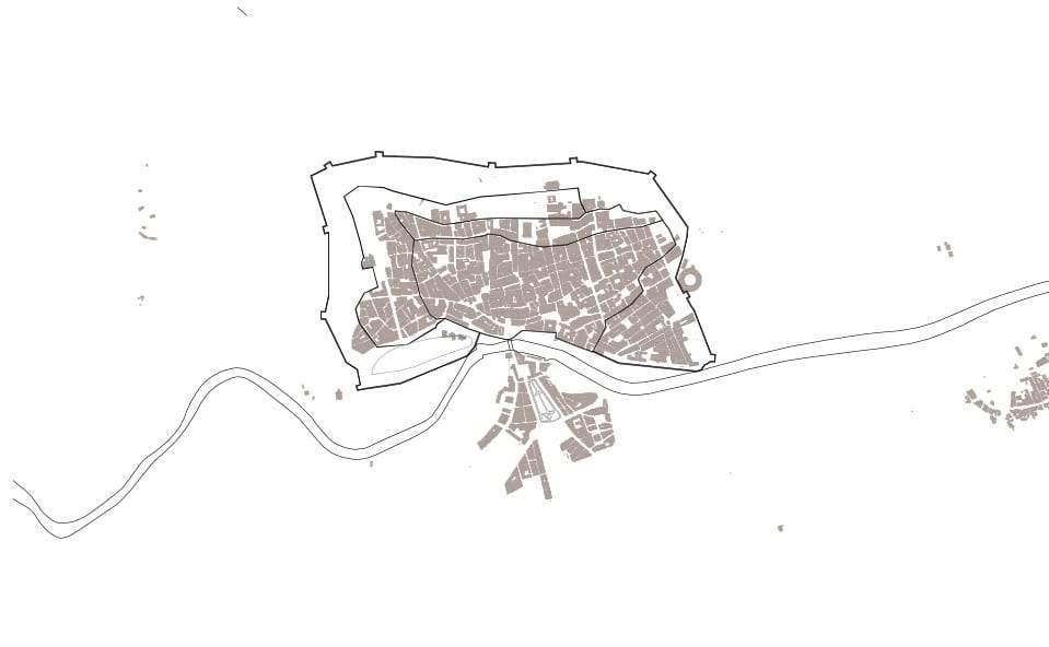 Mapa de Murcia en el S.XIX