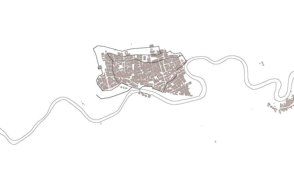 Mapa de Murcia en el S.XVII