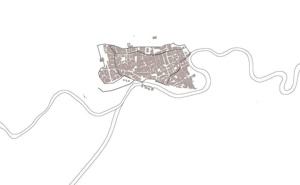 Mapa de Murcia en el S.XV