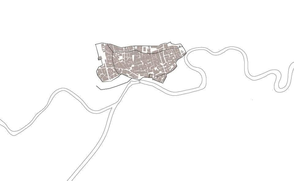 Mapa Murcia durante la conquista cristiana 1243
