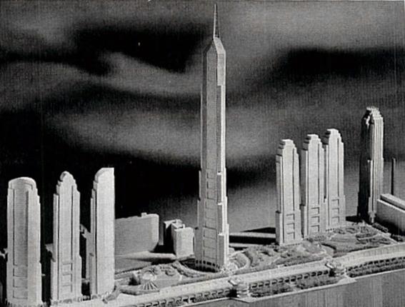 Donald Trump's Television City plan by Helmut Jahn