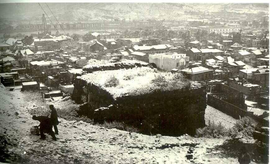 Gran nevada en Cartagena 1926
