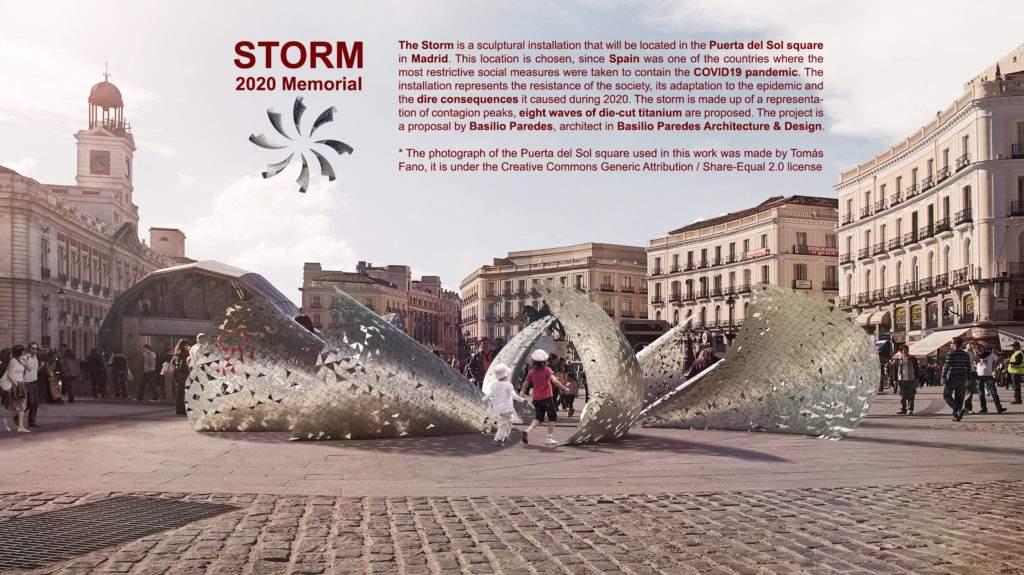 The Storm 2020 memorial
