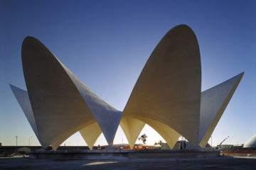 hormigón en arquitectura paraboloide