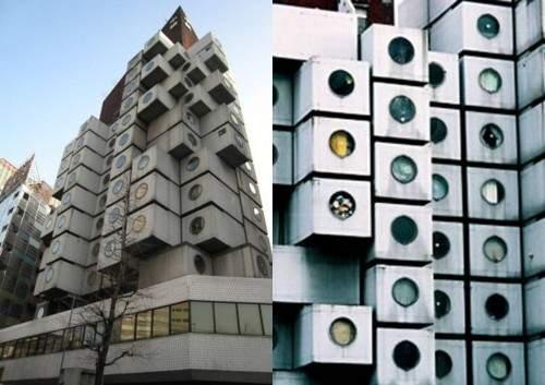 edificio prefabricado hormigón capsulas