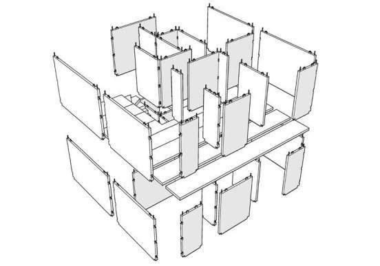 prefabricacion con paneles de hormigón